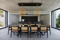 City villa salle à manger