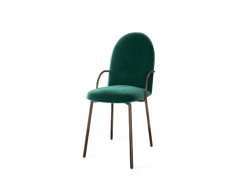 SCARLET SPLENDOUR_Orion Chair Verde Rose