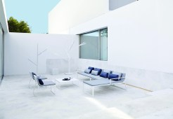 Ensemble de la collection BlAU Design : Fran Silvestre pour Gandia Blasco www.gandiablasco.com