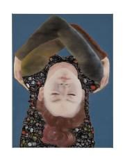 Sans titre, 6080712 Katinka Lampe Technique : huile sur toile, 80 x 60 cm, 2017.