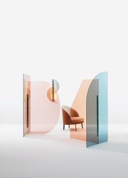 Collection Vela de Bernhardt et Vella (Arflex). © Walter Gumiero