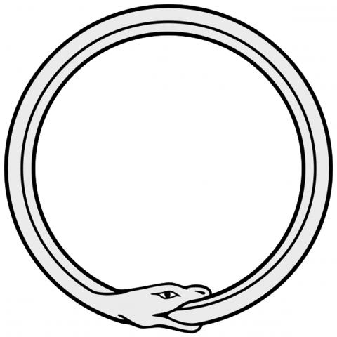 serpente che si morde la coda