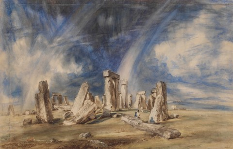 John Constable, Stonehenge, 1835 ca. - © Victoria and Albert Museum, Londra