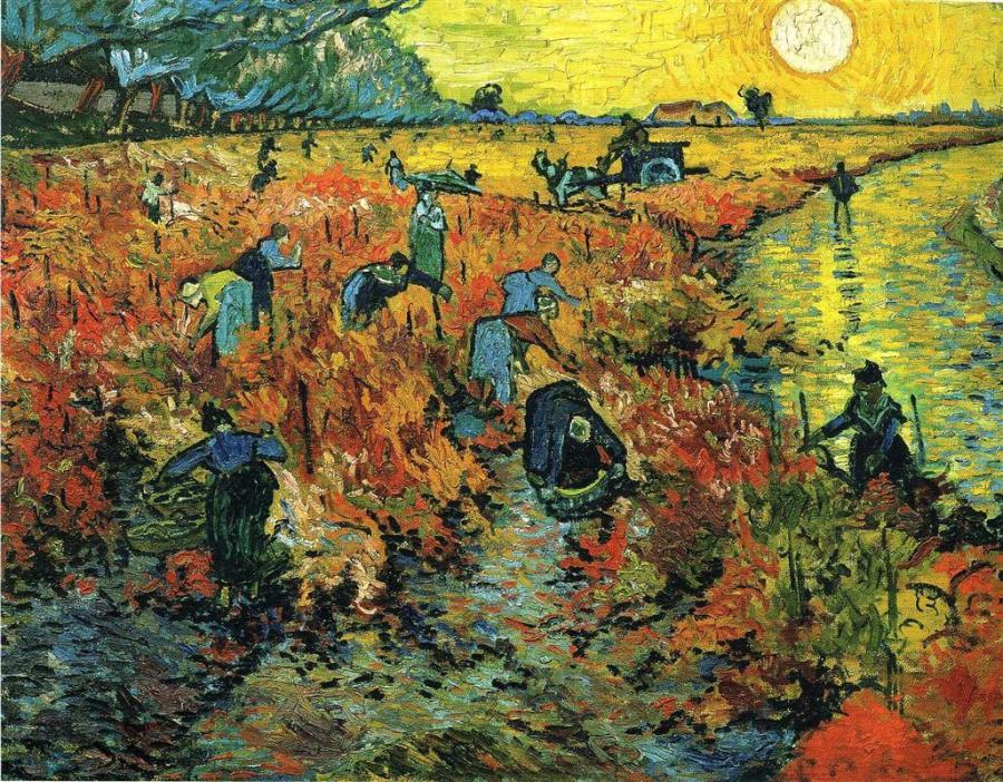 Ван Гог красные виноградники