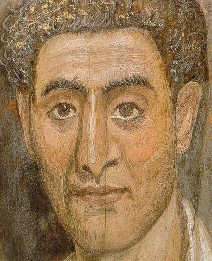Фаюмский портрет из Бруклинского музея