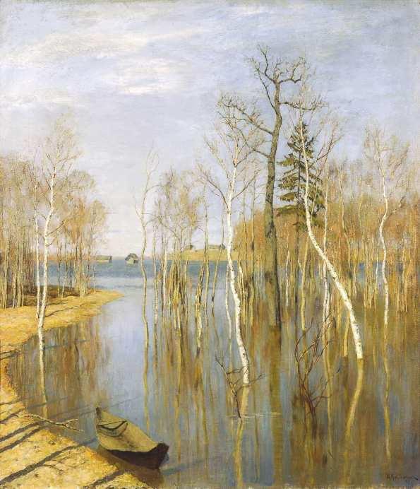 Левитан. Весна — большая вода