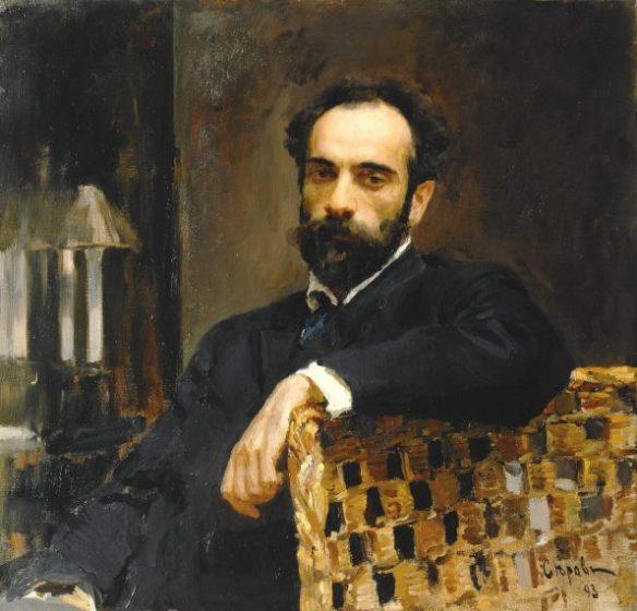 Серов. Портрет Левитана