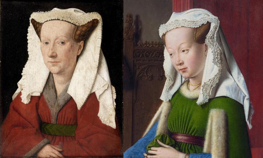 Ван Эйк. Портрет супруги художника