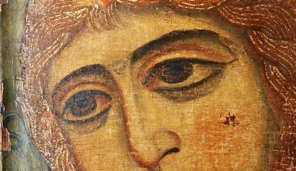 Ангел Златые Власа (деталь)