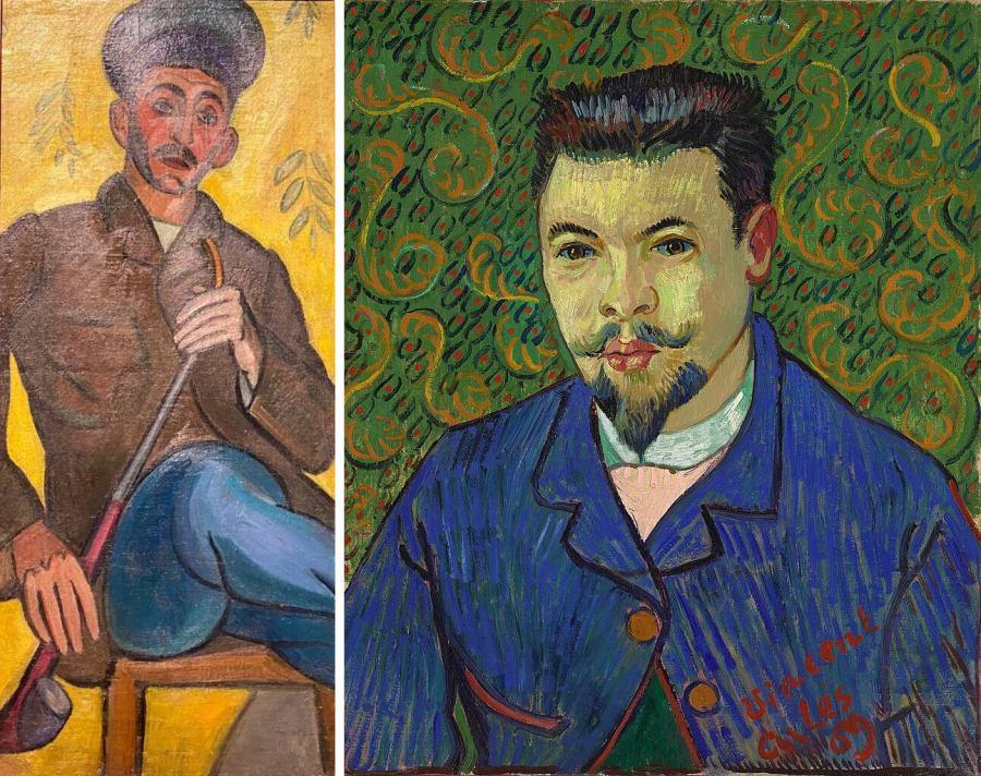 Сравнение Фалька и Ван Гога