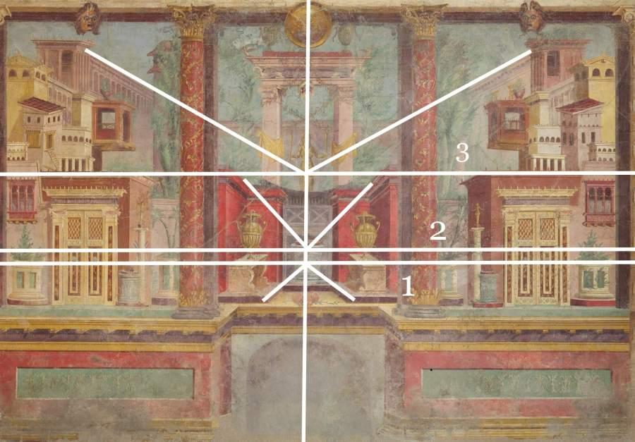 Античная фреска из виллы Фанния Синистора в Боскореале.