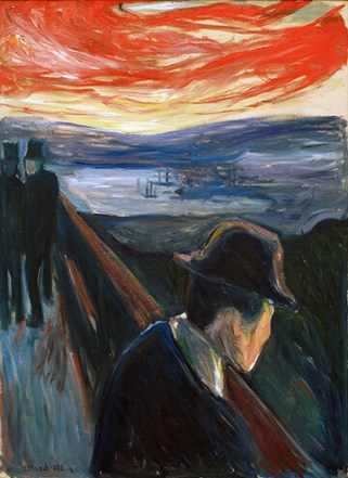 The Met Museum Edvard Munch Between the Clock and the Bed