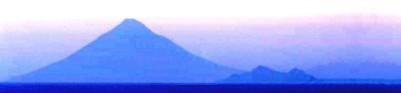 Mt. Fuji in the twilight