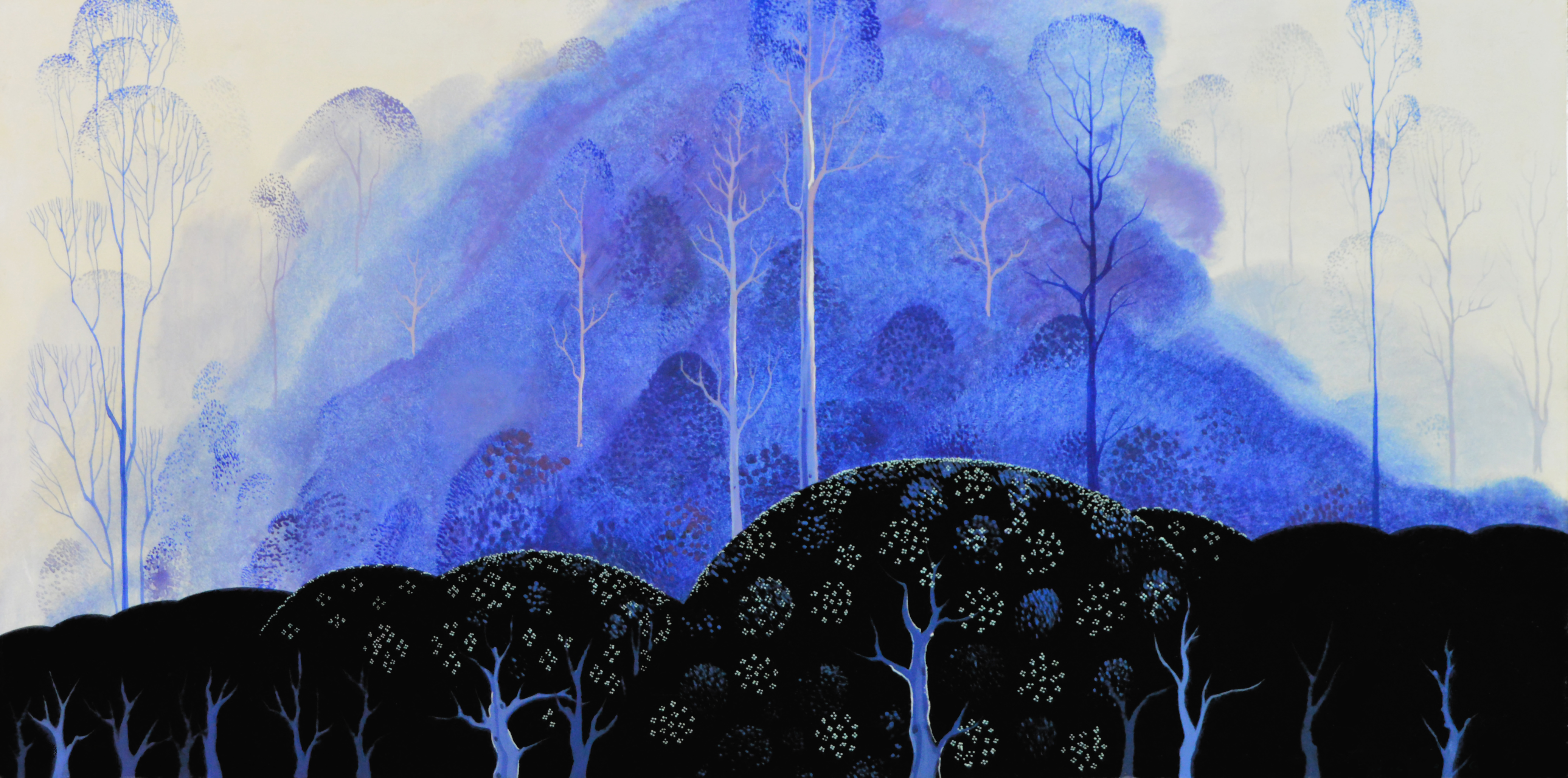 Eyvind Earle An Exhibit Of A Disney Legend On View At