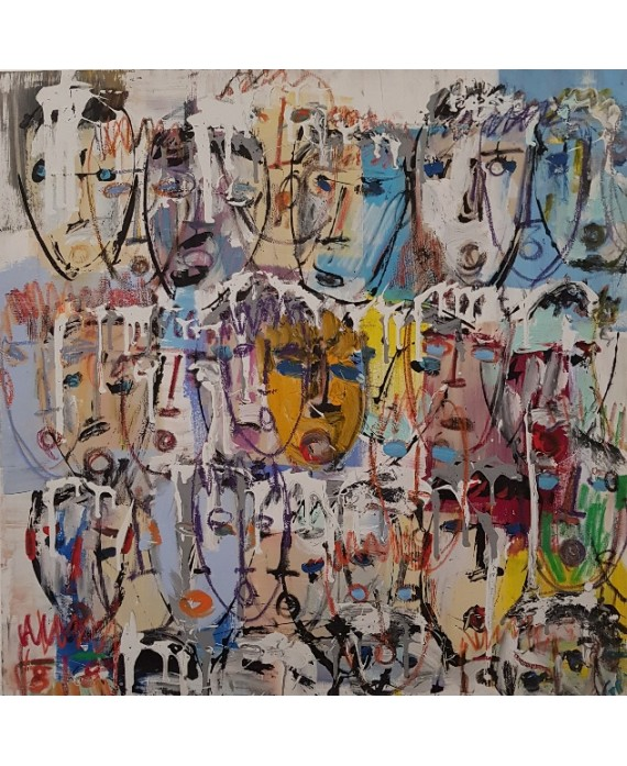 peinture contemporaine tableau moderne