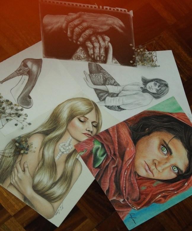 Obra de Isa Loren, miembro de la comunidad de artistas de ArtsCase