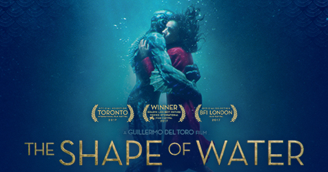 Image result for shape of water poster