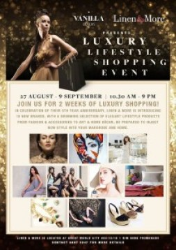 Luxury shopping Event