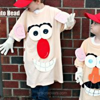 DIY No-Sew Mr. Potato Head Costume for Kids and Adults