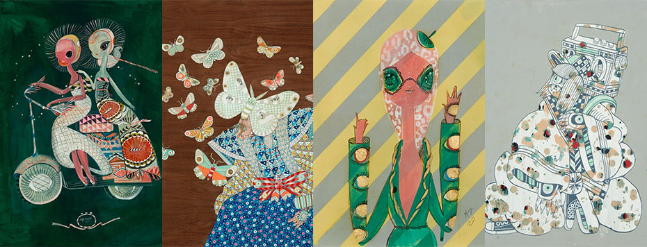 Kelly Tunstall and Ferris Plock Exhibition