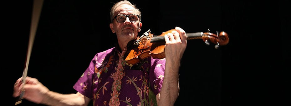 MUSIC | David Rosenboom performs new works exploring propositional worlds utilizing live electronics and software, piano, electric violin, brains, and more.