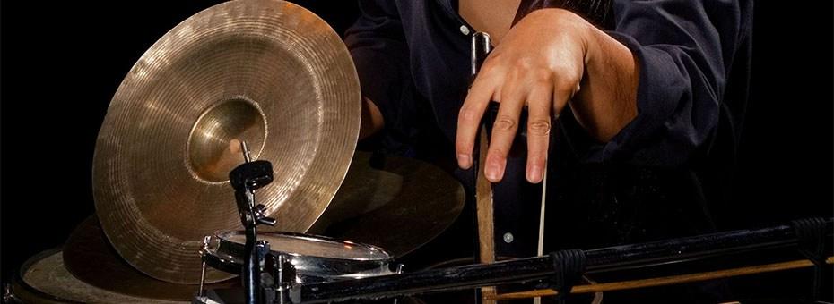MUSIC   Active Music Series Presents: Tatsuya Nakatani - Japanese avant-garde sound artist // Kyle Bruckmann's Degradient - jittery polyrhythmic sensory overload // Sharon Tate Fetus Explosion - no wave / post-industrial solo artist.