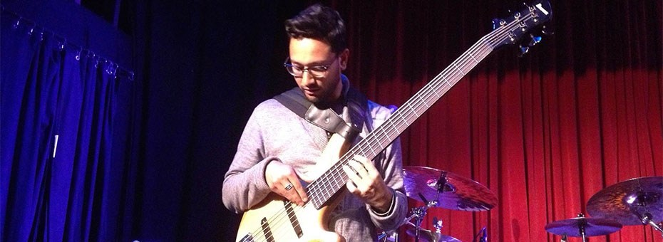 MUSIC | 6-string electric bassist Benjamin J. Shepherd was born & raised in Wellington, NZ, where he began playing the drumset at 5, bass guitar at 7, upright bass at 13.
