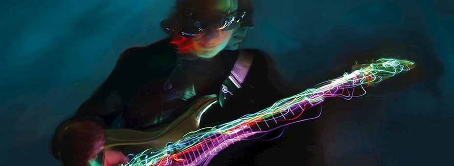 VISUAL | Joe Satriani will be unveiling his first fine art collection at Mr Musichead Gallery. Titled Radiant Collection each piece in the collection was completed by Satriani with Los Angeles art team SceneFour.