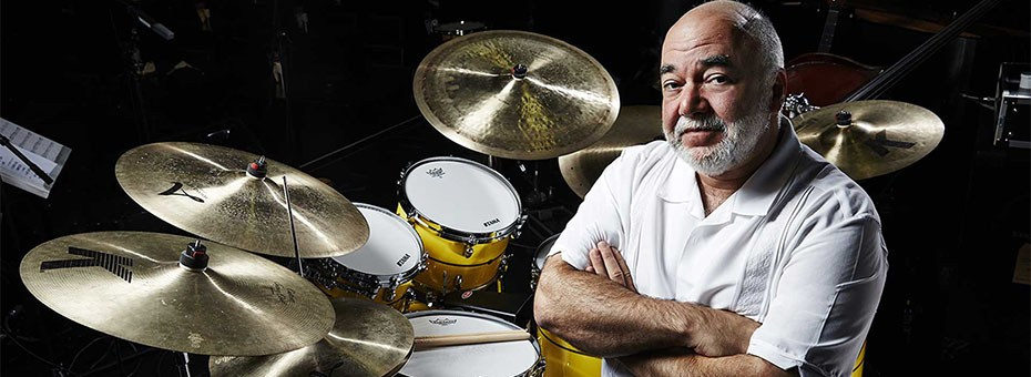 MUSIC | Peter Erskine has made indelible marks on fusion, straight ahead jazz, experimental music and mainstream pop, appearing on over 500 albums.