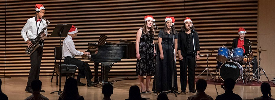 MUSIC | CSMA Merit Scholarship Student Ensembles perform favorite selections to celebrate the holidays in this popular annual event.