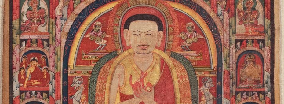 VISUAL | Khenpo Orgyen Chowang Rinpoche joins exhibition curator Dr. Jeffrey Durham in conversation to explore artworks on view in Awaken: A Tibetan Buddhist Journey Toward Enlightenment.