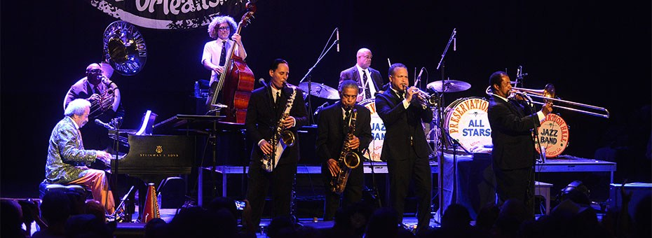 MUSIC | Preservation Hall Jazz Band is a true New Orleans institution that defines the tradition of Crescent City music, currently lead by tuba player Ben Jaffe.