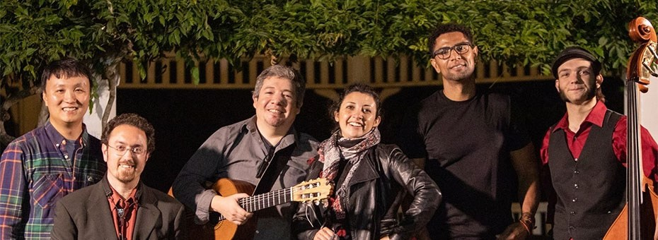 MUSIC | World music at its best, ViBO Simfani bridges cultures from around the globe by fusing elements of Latin jazz, folk, classical, Brazilian styles such as Bossa Nova and Choro.