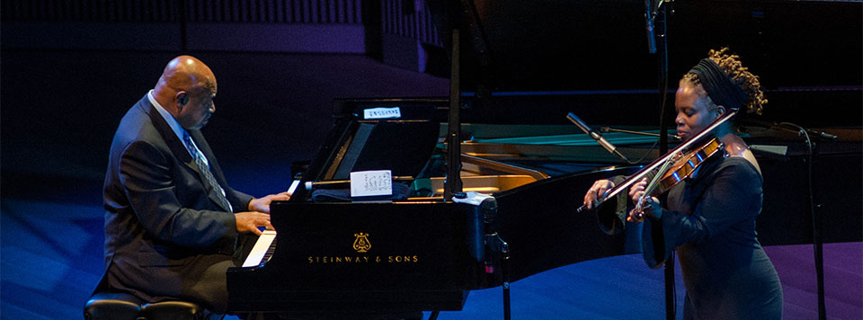 Kenny Barron with Regina Carter,