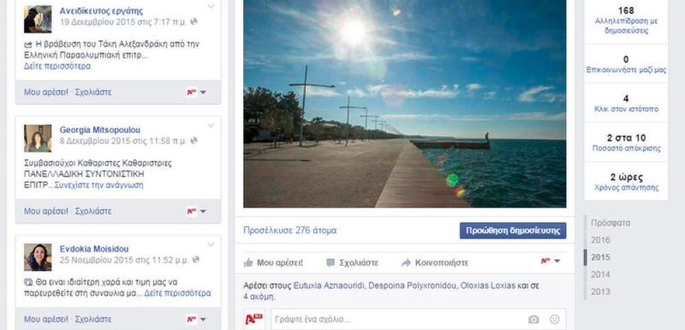 Social Media – Facebook – Alpha Radio 96,5