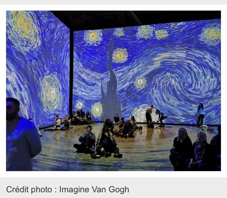 IMAGINE VAN GOGH