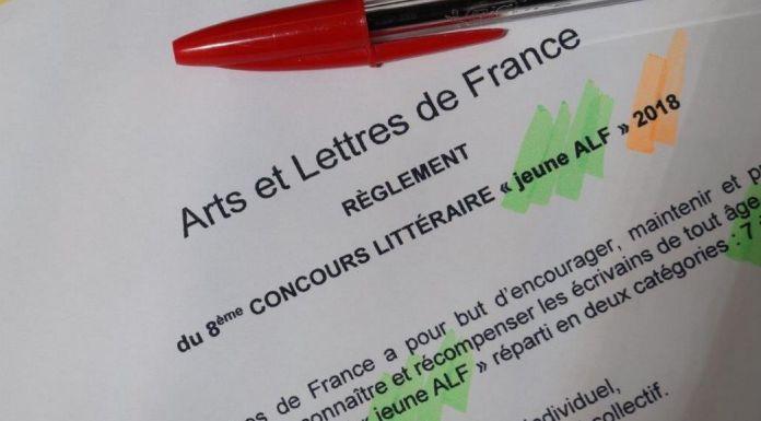 Concours Littéraire Jeunes 2018