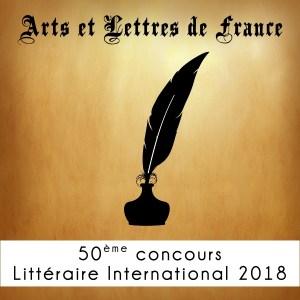 50ème Concours Littéraire International 2018
