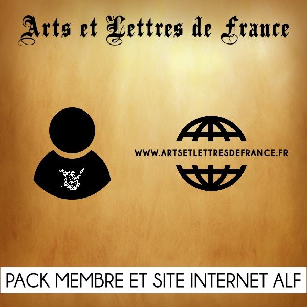 Pack Adhésion membre et site internet Arts et Lettres de France