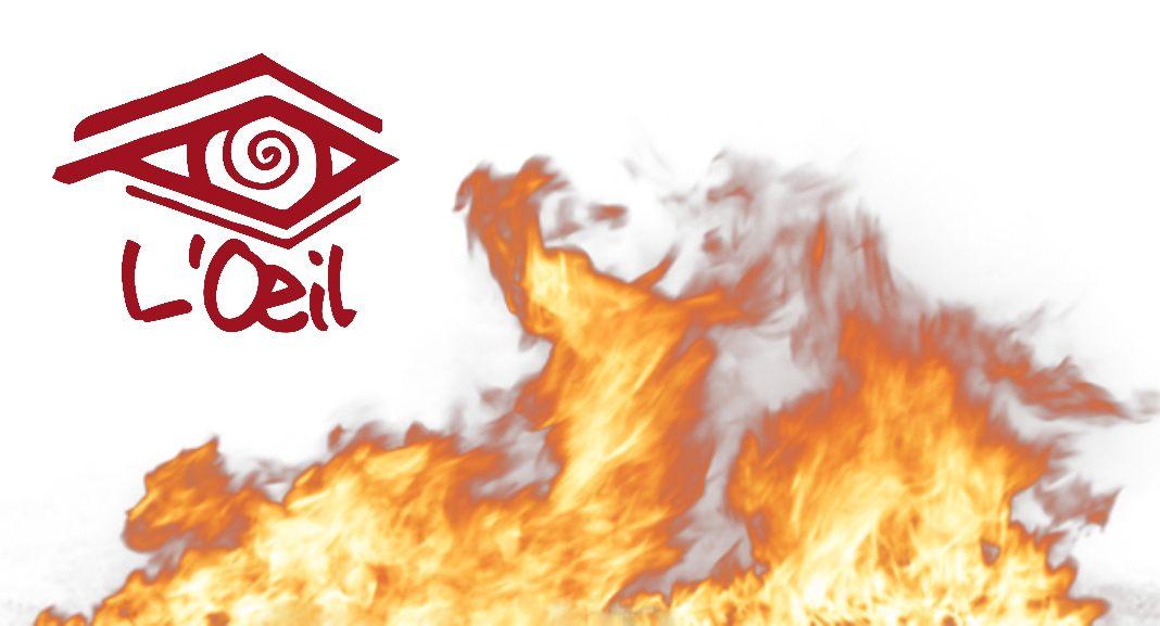 Tout feu tout flamme la lucarne