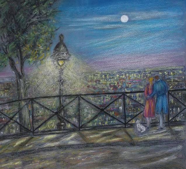 Christiane Blache - Les lumières de la ville