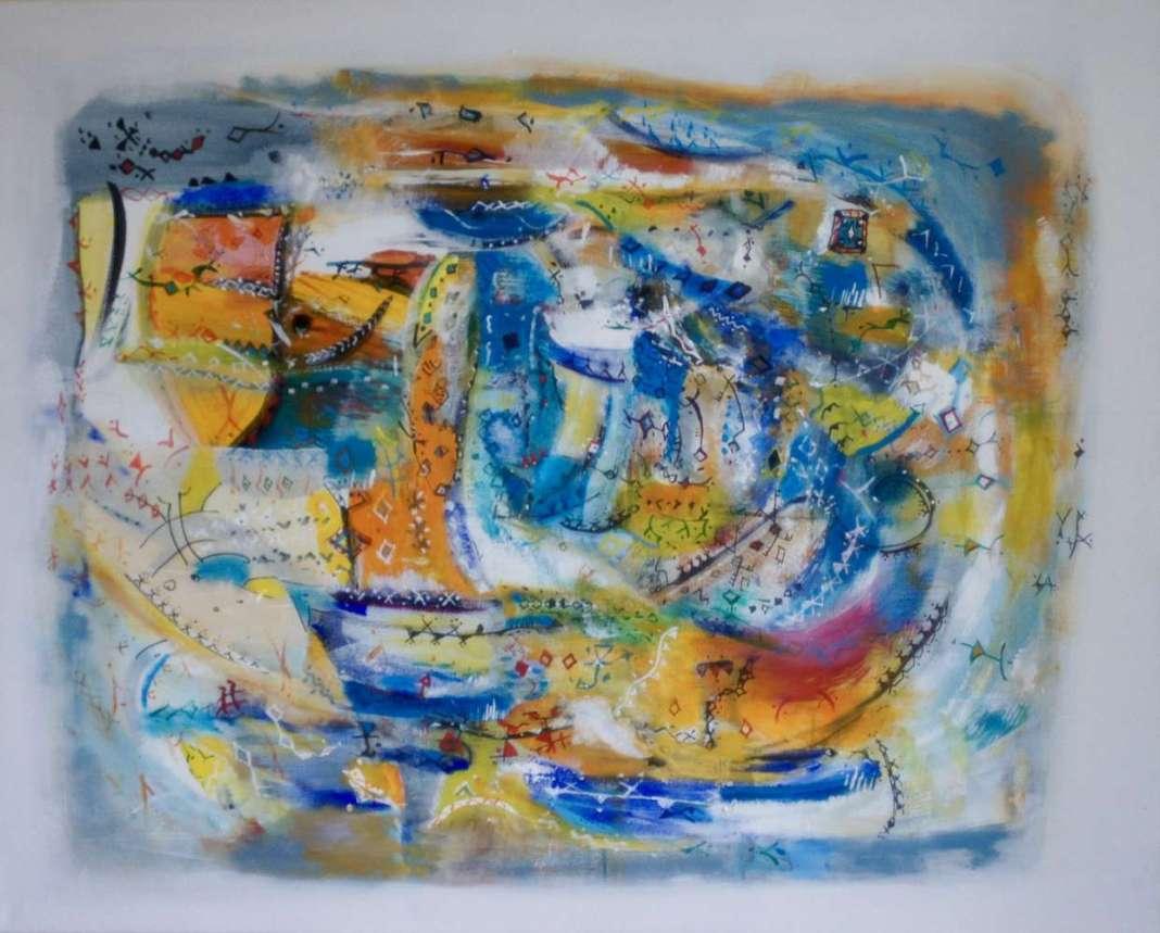 Mouvements colorés Majida