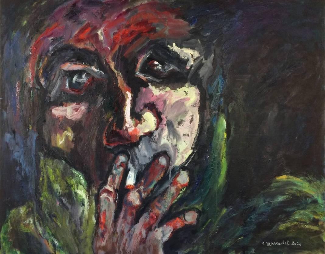 L'homme de la rue qui fume - Elisabeth Marcadet