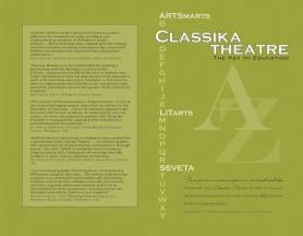 Program cover for Classika outreach event