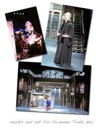 Sweeney Todd - Latex Masks