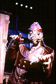 Sweeney Todd - Latex Mask design