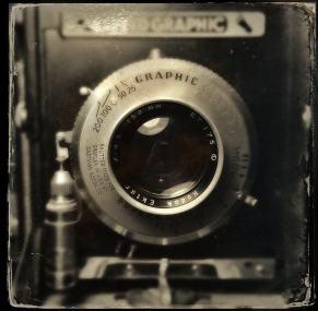 Speedgraphic Camera