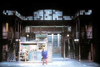Sweeney Todd - scenic artist