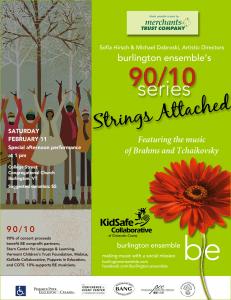 Burlington Ensemble 90/10 Poster