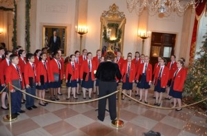 Funding received through power2give.org assisted in sending Charlotte Children's Choir to Washington, D.C., to perform at the White House.